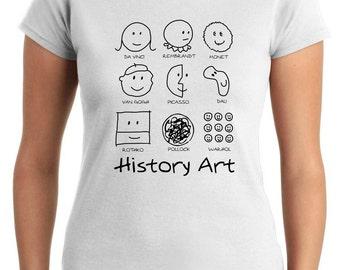 T-shirt T0749 history art politics