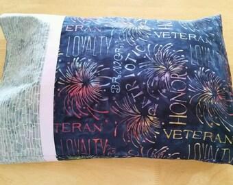 Pillowcase - Toddler/Travel Size  - Veterans Appreciation
