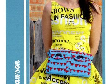 Bag Pattern, waist bag Pattern, Bag Patterns Australia