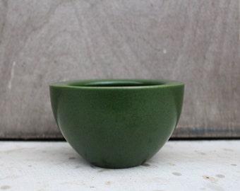 Scandinavian Vintage Stoneware Höganäs Keramik Jar Swedish Vintage Green Stoneware Jar, Scandinavian Design