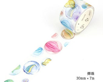 Marbles Washi Tape/Japanese Washi Tape / Deco tape TZ924