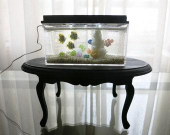Miniature saltwater acuarium 1/12 scale