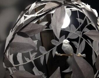 Pendant - bird lamp