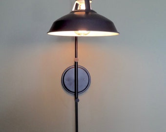 Edison Lamp, Wall Sconce Lamp, Sconce Lighting, Industrial Lighting, Bedside Lamp, Reading Lamp, Accent Lighting, Adjustable Lamp, Wall Lamp