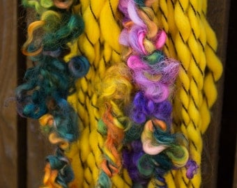 Sunshine and Rainbows Handspun Yarn