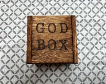 God Prayer Box