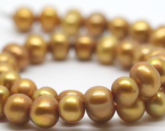 Gold Freshwater Pearls
