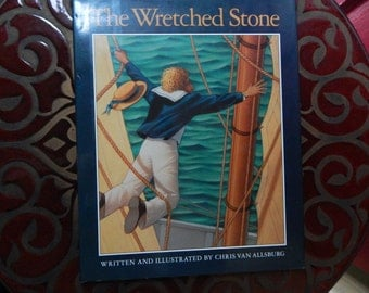 Chris Van Allsburg Wretched Stone First Edition Signed