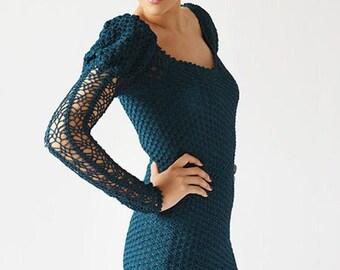 Dames Robe en maille crochet / custom