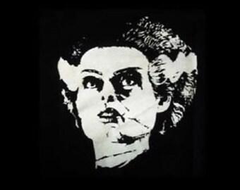 FRANKENSTEIN BRIDE CULT classic horror film movie black canvas back patch