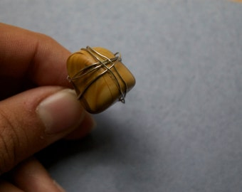 Brown Rock Ring