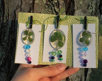 Four Leaf Clover Jewelry Set