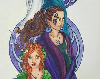 Maiden, Mother, and Crone Art Print