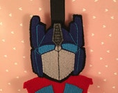 Optimus Prime hanging ornament, Christmas tree decoration, robot, Transformers