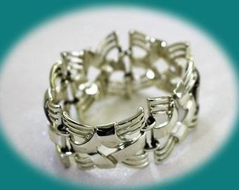 Vintage Bracelet Coro  Silver Tone  Bracelet Vintage Jewelry Vintage Bracelet Costume Jewelry