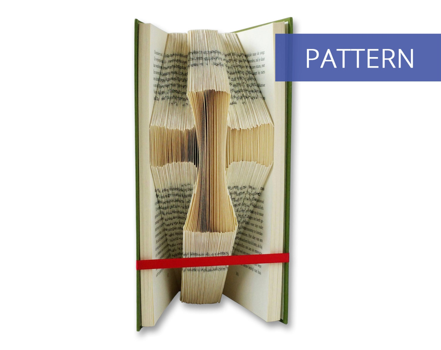 folded book art instructions