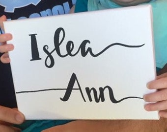 Personalized Name Sign (Small - 5x7)