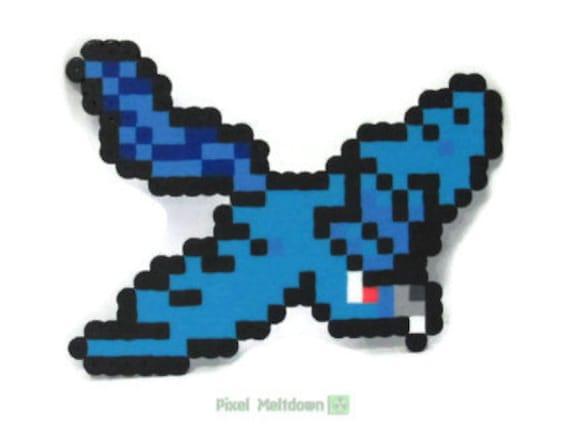 Articuno, Zapdos, Moltres Legendary Birds Pokemon Pixel Art