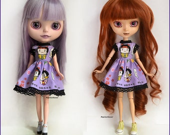 Dress for Blythe, Pullip Doll bodied stock 4