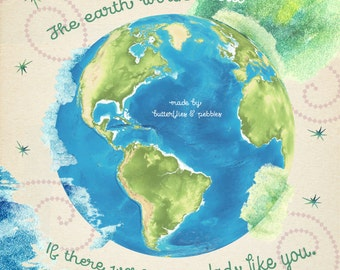 Father's Day Card. Sweet Message. The earth would heal if there were more dads like you. Cards with meaning.