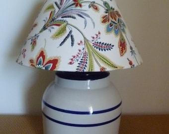 Upcycled Crockery Lamp
