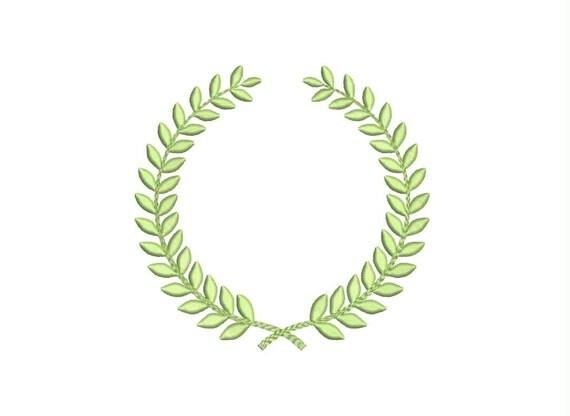 Sale leaf monogram frame design border style