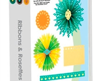RIBBONS & ROSETTES Cricut Cartridge.   Factory Sealed and Ready to Ship.