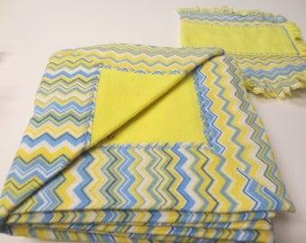 Baby Blanket, Baby Receiving Blanket, Flannel Blanket, Burp Cloth's