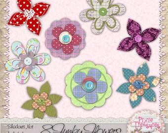 8 Funky Flower Embellishments