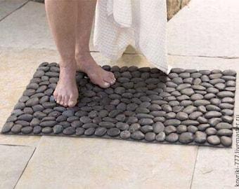 Stone rug handmade