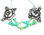 PANIKA Roses statement necklace