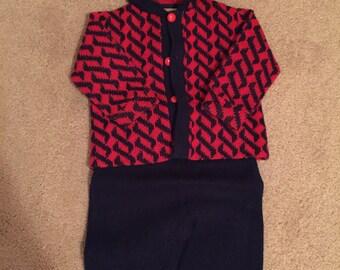 Vintage child sweater/pant set