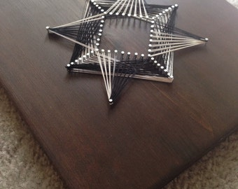 String Art 3D Fractals and Shapes *FREE SHIPPING*
