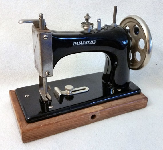 damascus sewing machine manual