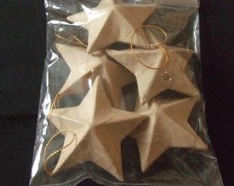 Papier Mache Stars