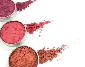 Mineral Blushes (Hibiscus, Princess Peach and Summer Plum) 14g