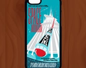 Space Mountain Phone Case - Walt Disney World - iPhone  7,  7 Plus, 8, 8 Plus, Samsung  S6, S7, S6 Edge, S7 Edge