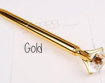 Diamond pen gold