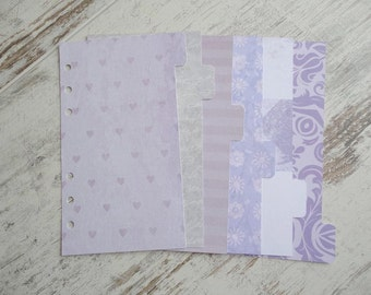 "Personal dividers ""lovely purple"""