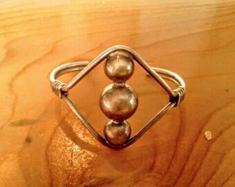 Wrap Around Silver Bracelet