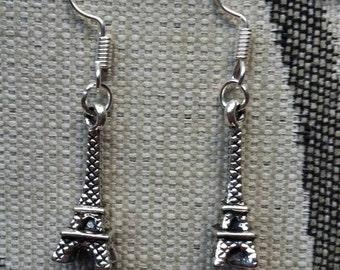 Handmade Tour Eiffel pair of earrings