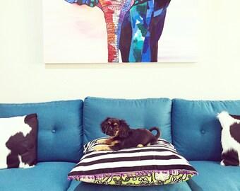 Custom Floor Cushion/Pet Bed