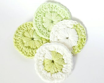 Cotton Face Scrubbies. 100% cotton