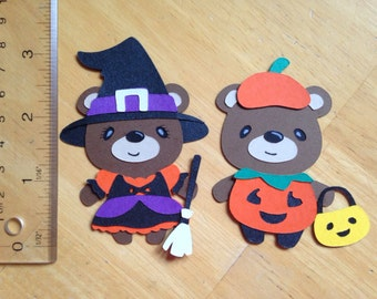 Halloween Teddy bears 1