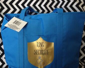 Ring Bearer Gift - Tote/Overnight Bag