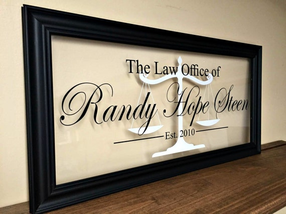 Gifts for attorneys lawyer gift law office decor gifts for for Law office decor