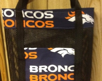 Denver Broncos Mesh Tote Bag