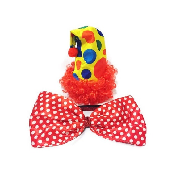 how to make a clown bow tie