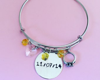 Special Date Bangle
