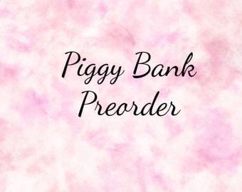 Custom Painted Piggy Bank PREORDER